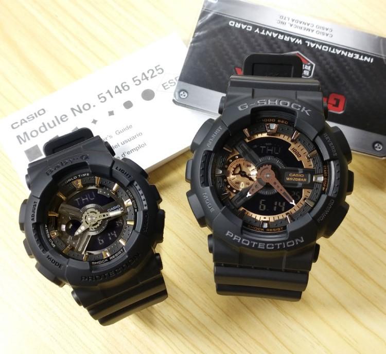 Casio Original G Shock Baby G G Ga 110rg 1a Ba 110ga 1a Couple Watch