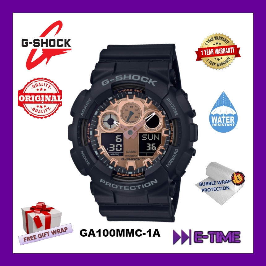 945010a848ce *NEW* CASIO ORIGINAL G-SHOCK GA-100MMC-1A MEN SPORT WATCH. ‹ ›