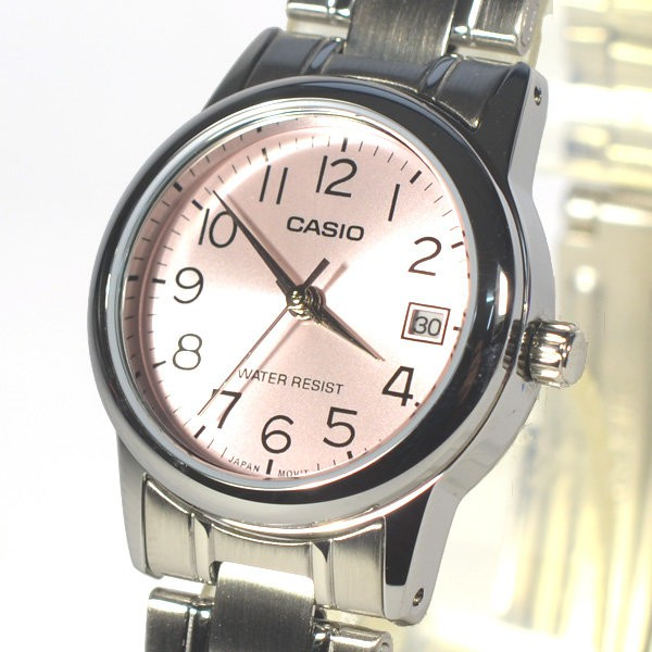 CASIO ORIGINAL LTP-V002D-4B DRESS ANALOG-LADIES WATCH