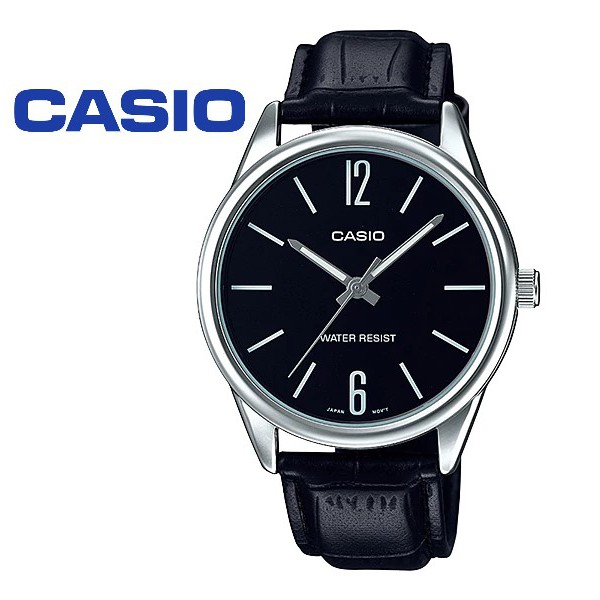 CASIO ORIGINAL MTP-V005L-1B  & LTP-V005L-1B COUPLE WATCH