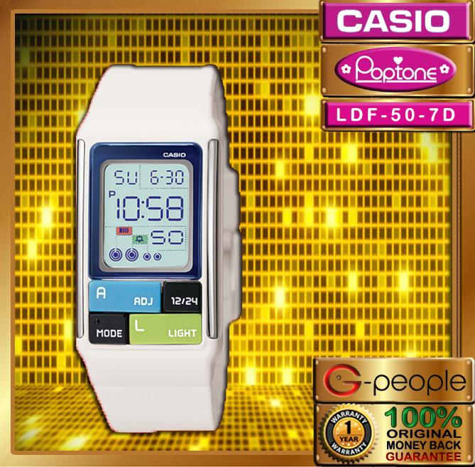 CASIO POPTONE LDF-50-7 WATCH☑ORIGINAL☑