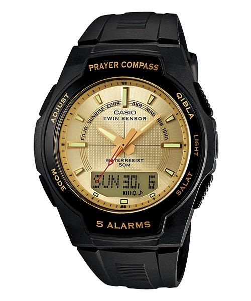 CASIO PRAYER COMPASS CPW-500H-9A ★Twin Sensor ★