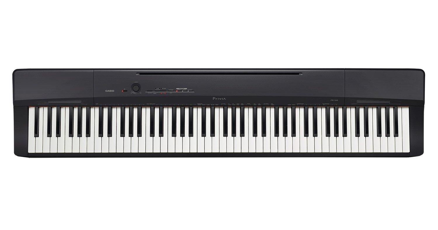 CASIO PX-160 DIGITAL PIANO 88 KEYS(BLACK)