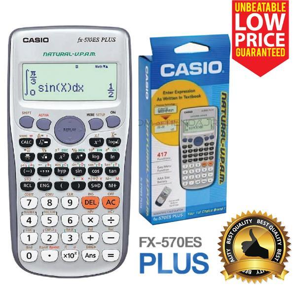 Casio Scientific Calculator Fx 570E End 12 20 2018 315 PM