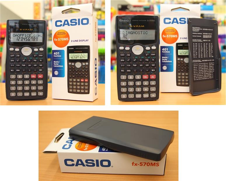 Casio Scientific Calculator Fx 570ms End 6 28 2017 4 18 Pm