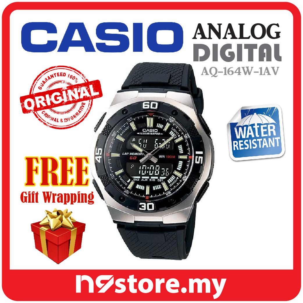aff5969a3a3 Casio Standard Analog Digital AQ-164 (end 3 7 2021 12 00 AM)