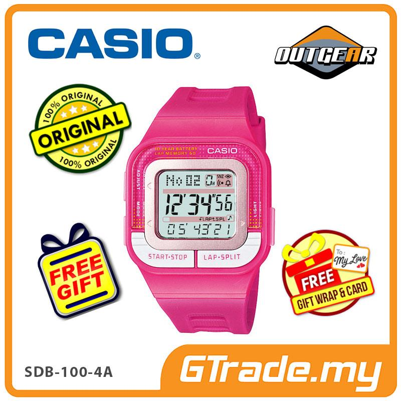 CASIO STANDARD SDB 100 4A Digital Watch [PRE]