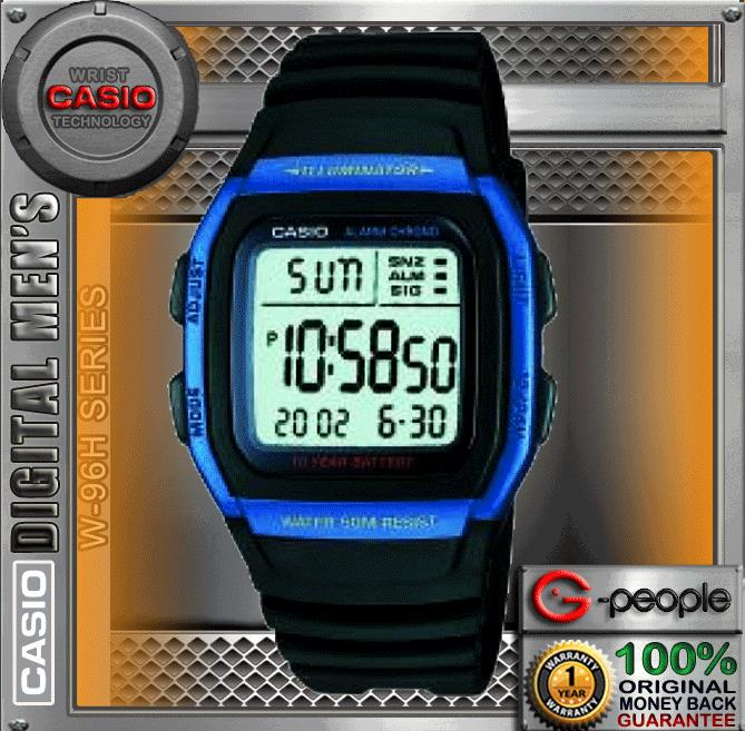 CASIO W-96H-2AV 10 YEARS BATTERY WATCH☑ORIGINAL☑