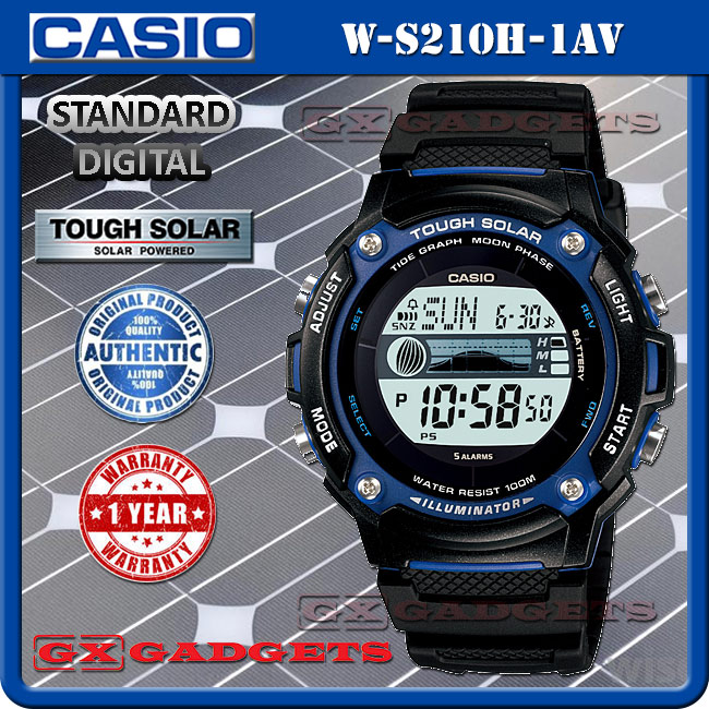 casio w s210h 1av standard digital wa end 3 5 2019 6 24 pm rh lelong com my casio tough solar sport analog/digital watch manual Timex Analog Digital Watch