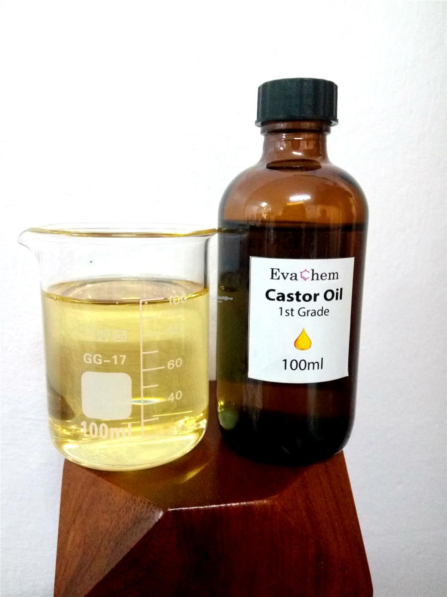 Castor Oil (1st Grade/Cosmetic grade/ golden yellow) - 100ml