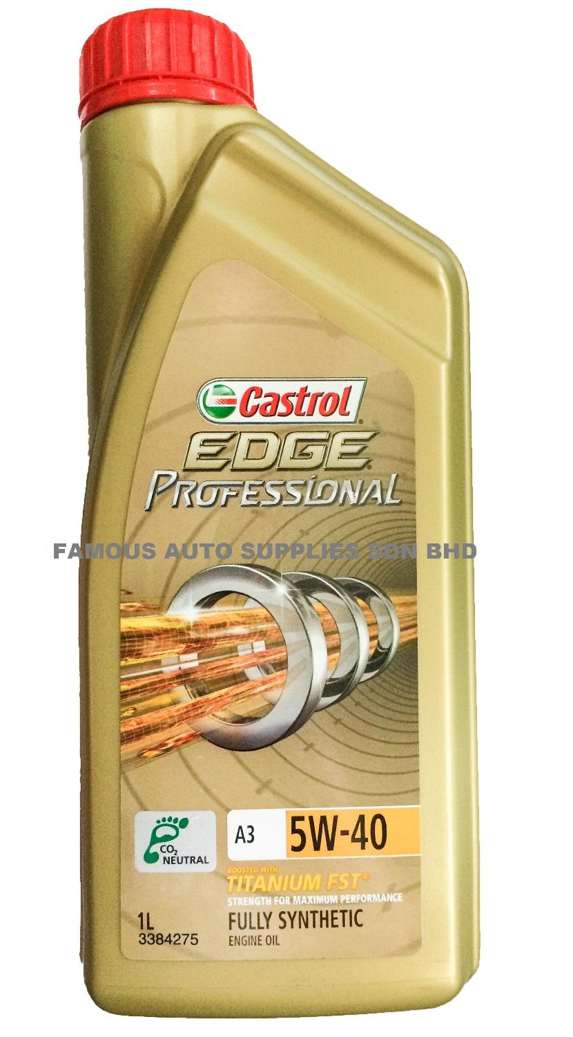 Velsete Castrol Edge Professional Fully Syn (end 8/15/2018 12:15 PM) NO-98