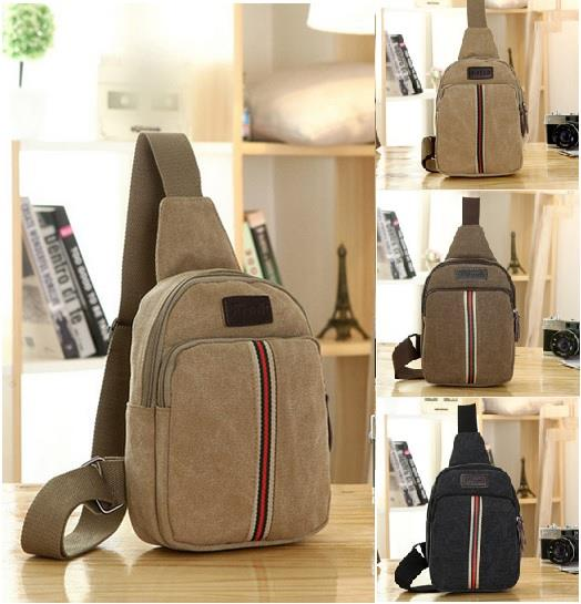 50514203481 Casual Canvas Backpack Crossbody Sli (end 10/7/2020 8:15 PM)