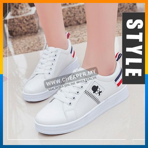 673238ec2ea Casual Fashion Ankle Mustache Sneakers Shoes The Trend Hipster Style S. ‹ ›