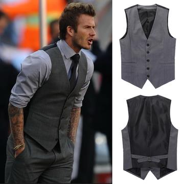 a00911306f11 Casual Men's David Beckham Waistcoa (end 7/27/2020 11:15 PM)