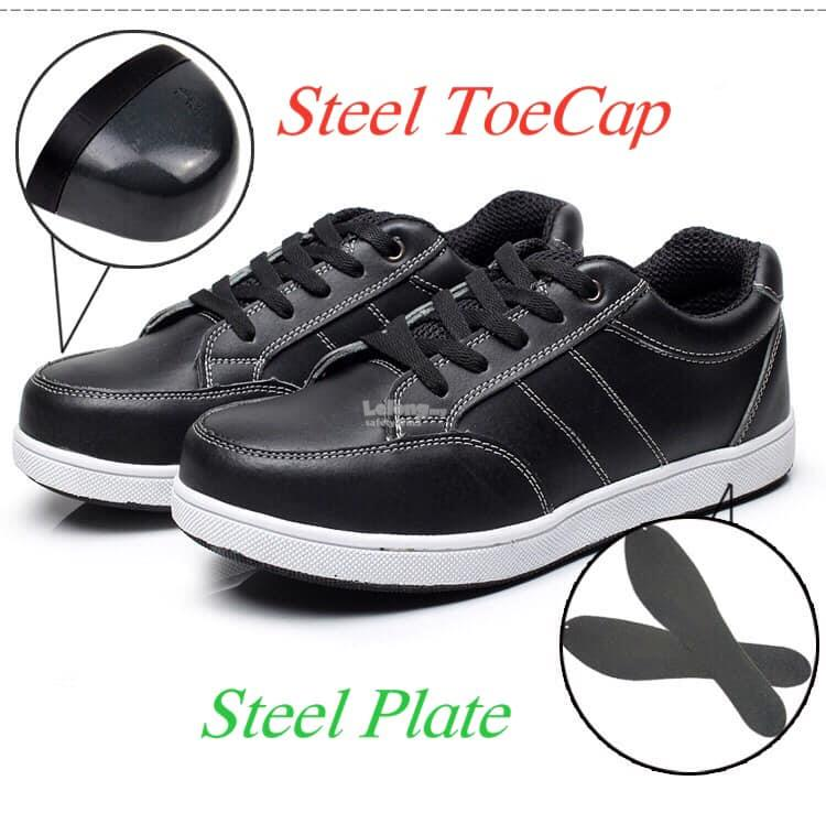 Casual Safety Shoes- Steel Toe Cap, Steel Plate & Anti-Slip