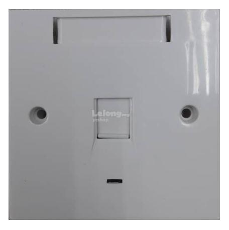 Cat5e/ Cat6/ RJ45 Single Port Faceplate (S020)