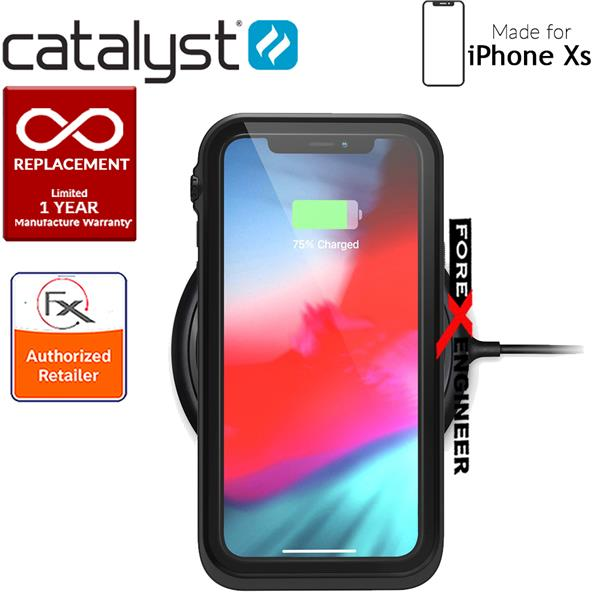 huge selection of c948a 874ae Catalyst Waterproof Case for iPhone Xs -Stealth Black