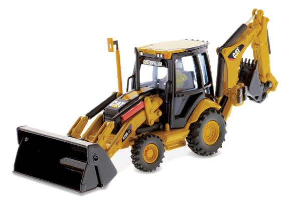 Caterpillar CAT 420E CENTER PIVOT BACKHOE LOADER 1:50 Scale