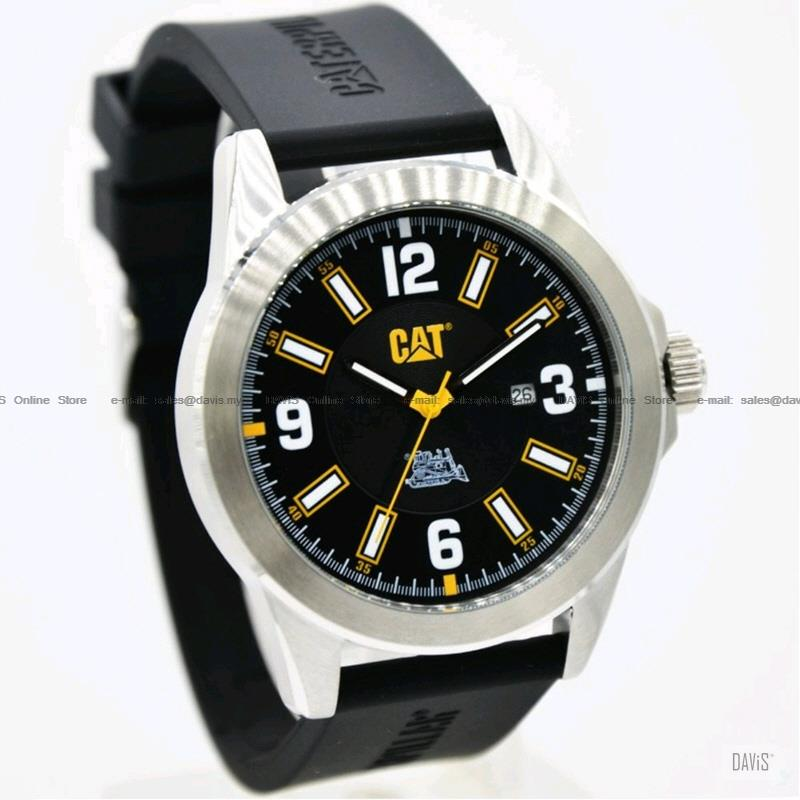Caterpillar CAT Watches 05.141.21.131 Special Edition Silicone Black