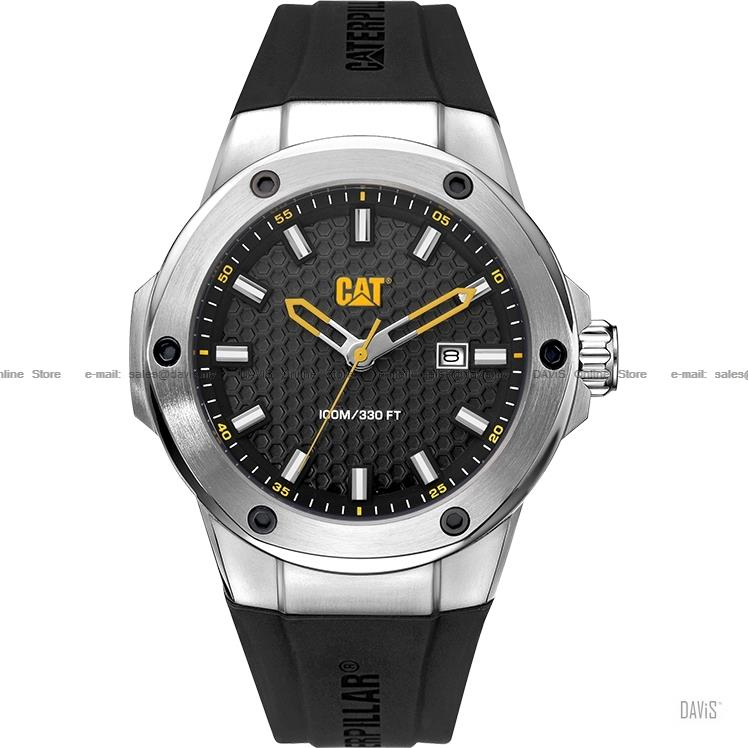Caterpillar CAT Watches AA.141.21.121 NAVIGO X Date Silicone Black