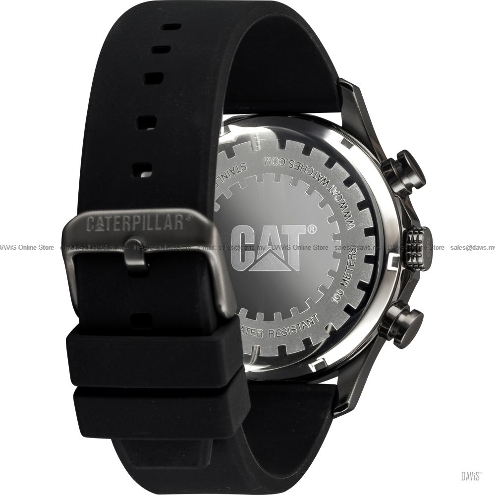 Caterpillar CAT Watches AG.149 AG.159 AG Multi Analog Silicone Leather