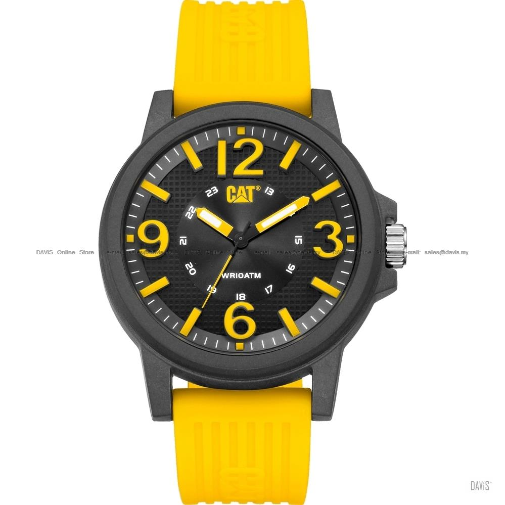 Caterpillar CAT Watches LF.111.27.137 GROOVY Silicone Strap Yellow