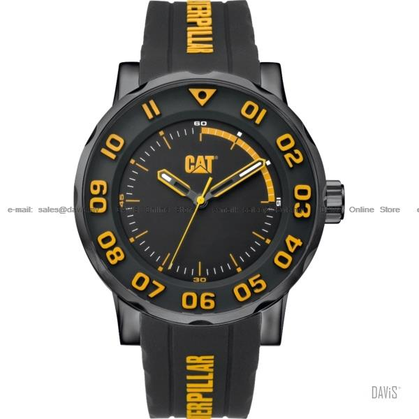 Caterpillar CAT Watches NM.161.21.117 BOLD II Silicone Black Yellow