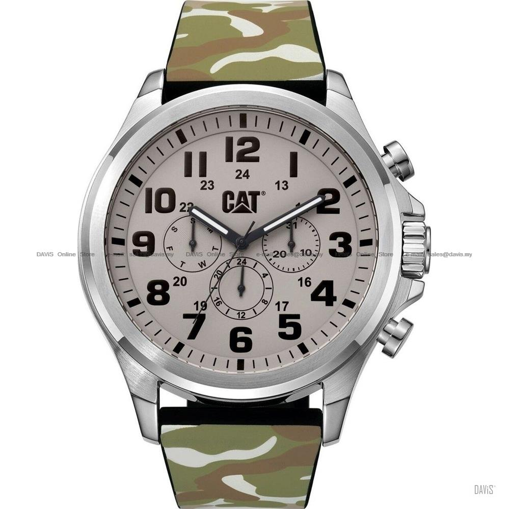 Caterpillar CAT Watches PU.149.20.010 OPERATOR Camo Multi Silicon Sand