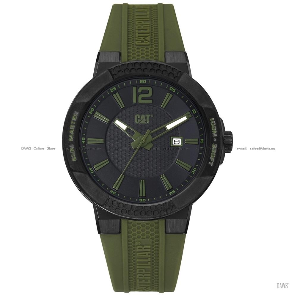 Caterpillar CAT Watches SH.161.23.133 SHOCK Slim Silicone Strap Green