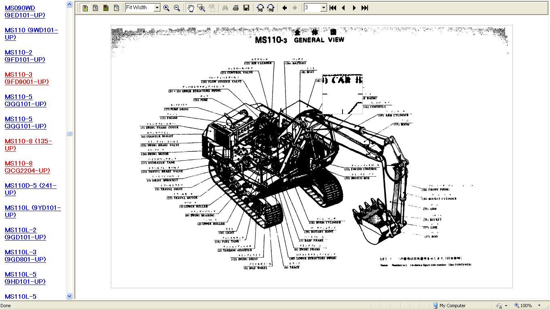 Caterpillar and Mitsubishi Construction Legacy Parts Manuals. ‹ ›