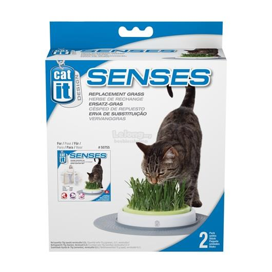 Catit Design Senses Grass Garden Kit - Grass Refill - 2-pack