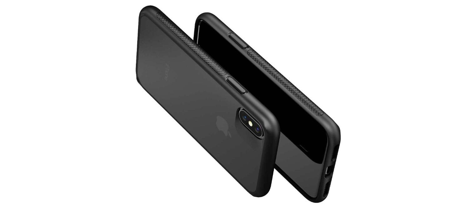 innovative design b8ae2 1b6de Caudabe The Synthesis for iPhone X / XS - Stealth Black