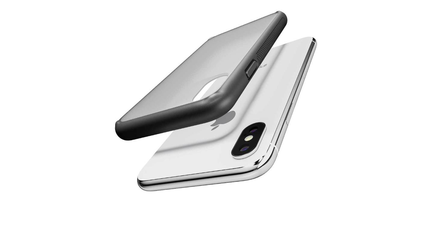 innovative design 3f0cf e1edd Caudabe The Synthesis for iPhone X / XS - Stealth Black