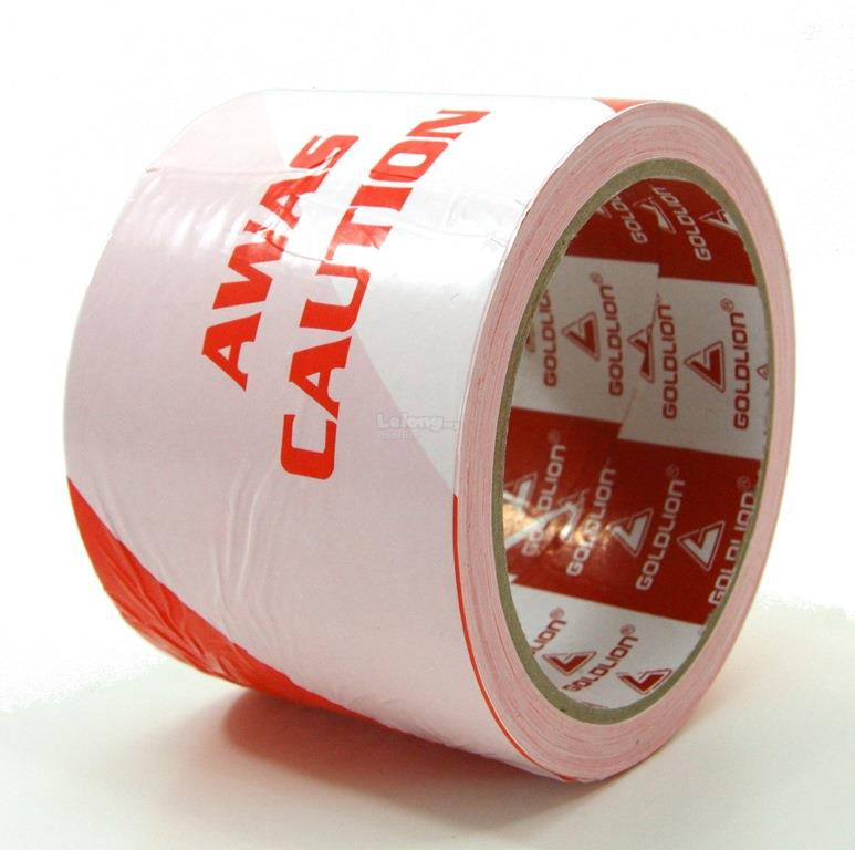 Caution Barricade Warning Awas Tape 72mm x 50m
