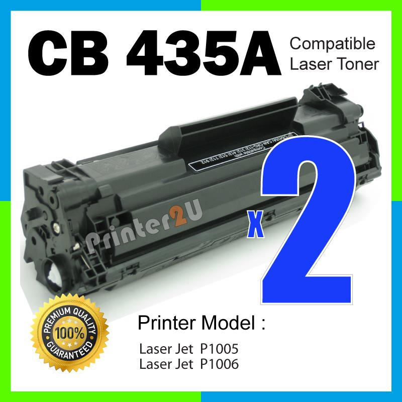 CB435A/35A Compatible HP P1005 P1006 P 1005/1006 Laser Printer Toner