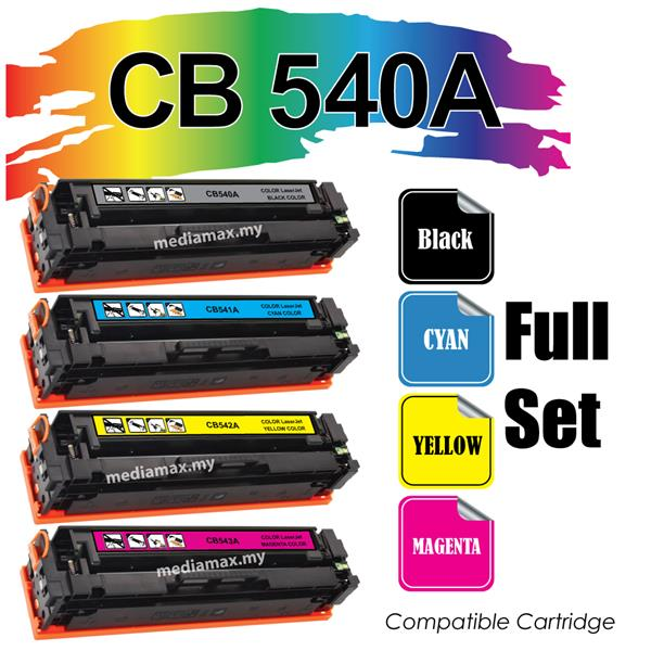CB540A Compatible HP CP 1210 1215 1510 1515 1518 Color Laser Toner