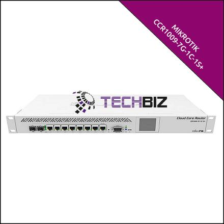 CCR1009-7G-1C-1S+ Mikrotik 9 port 9 core SFP+ Gigabit Router