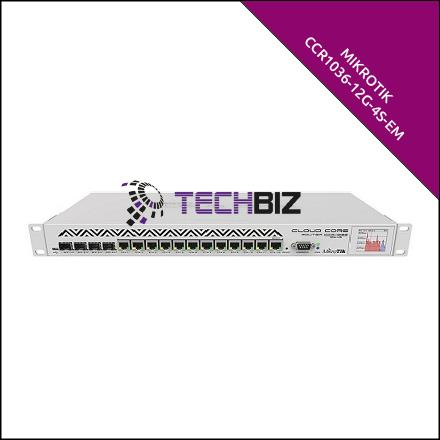 CCR1036-12G-4S-EM Mikrotik 16-Port 36 Core Gigabit Router