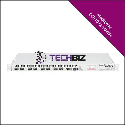 CCR1072-1G-8S+ Mikrotik 10G Router 9-Port SFP+ MPLS Cloud Core