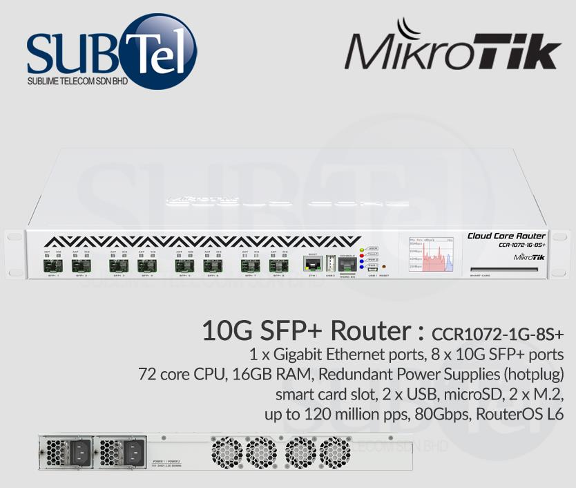 10 G Router