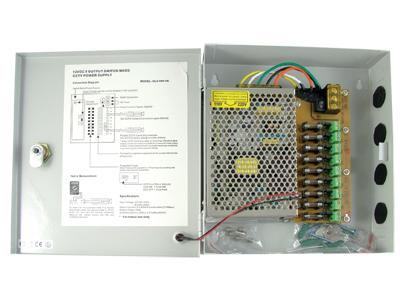 CCTV 9CH Power Supply AC to DC Distribution Panel (12V 5A)
