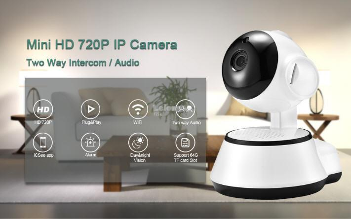 CCTV IP CAMERA HOME SECURITY 720P NIGHT VISION & MOTION