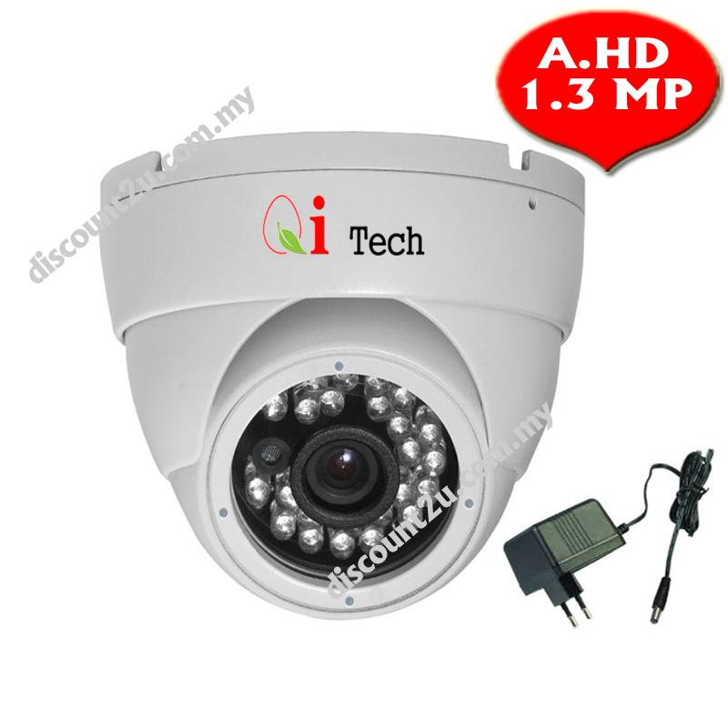 CCTV IR Dome Camera 1/3' AHD 960P 1.3MP - Support Day & Night View