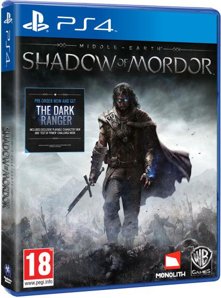 CD PS4 Shadow Of Mordor Middle Earth