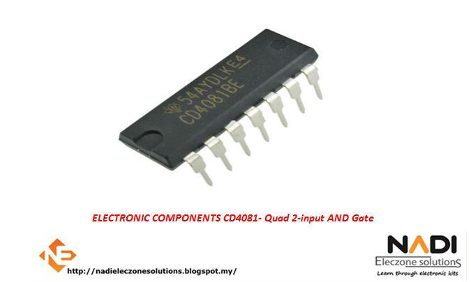 CD4081 Quad 2 Input Or And Gate DIP-14 Electronic Component