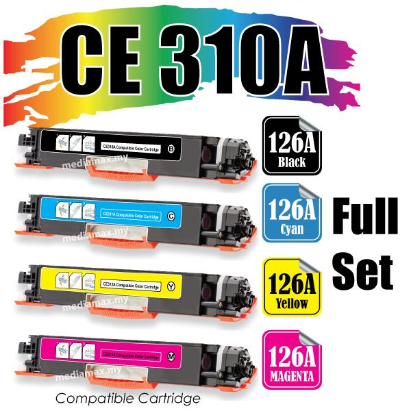CE310A Compatible HP LaserJet Pro CP1025 CP1025nw CP 1025 1025nw Color