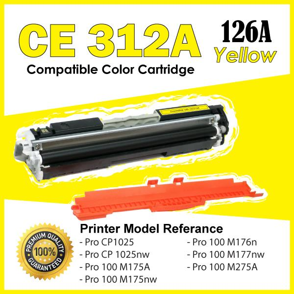 CE312A CE 312A/126A Yellow Color Compatible HP Pro M175A M175nw M275