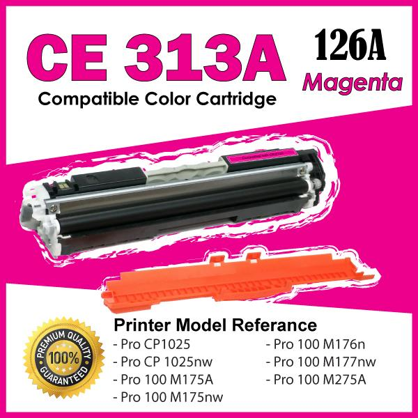 CE313A/126A Magenta Compatible HP LaserJet Pro CP 1025 1025nw Color