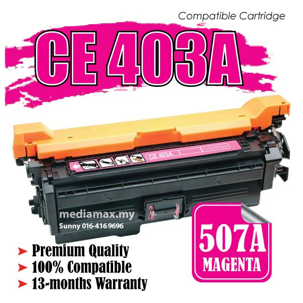 CE403A Compatible HP LaserJet Enterprise 500 Color Printer MFP M575f