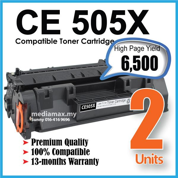 CE505x 05x CE505 CE 505x 05 Compatible HP LaserJet P2050 P2055 Printer